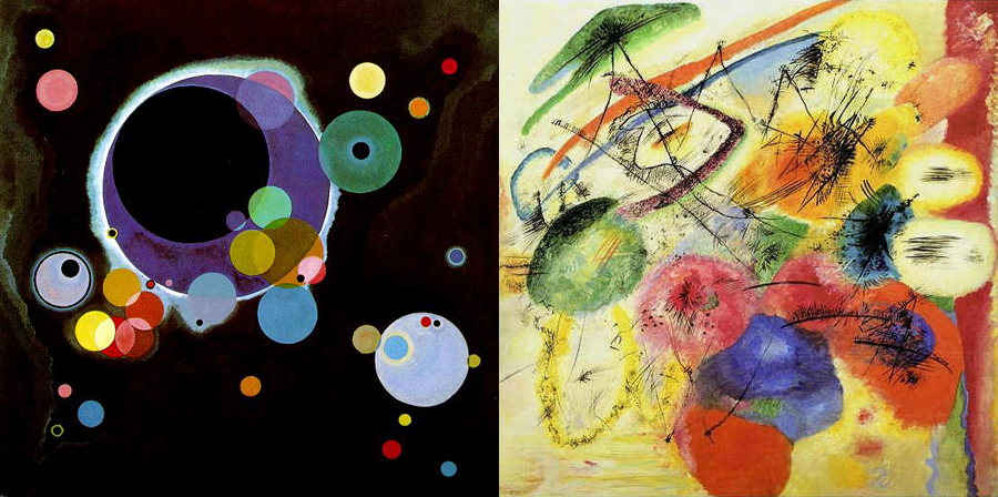Kandinsky Revisited All At The Same Time A Diary Of A Mom