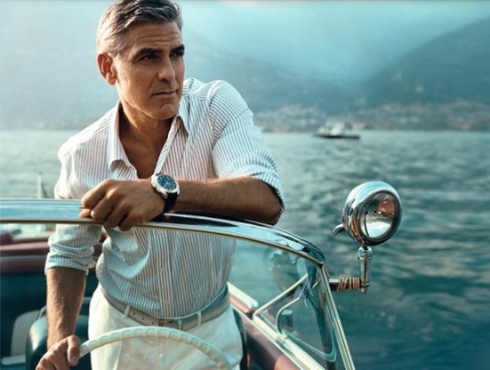 george clooney on boat