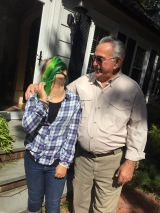 of green hair and love